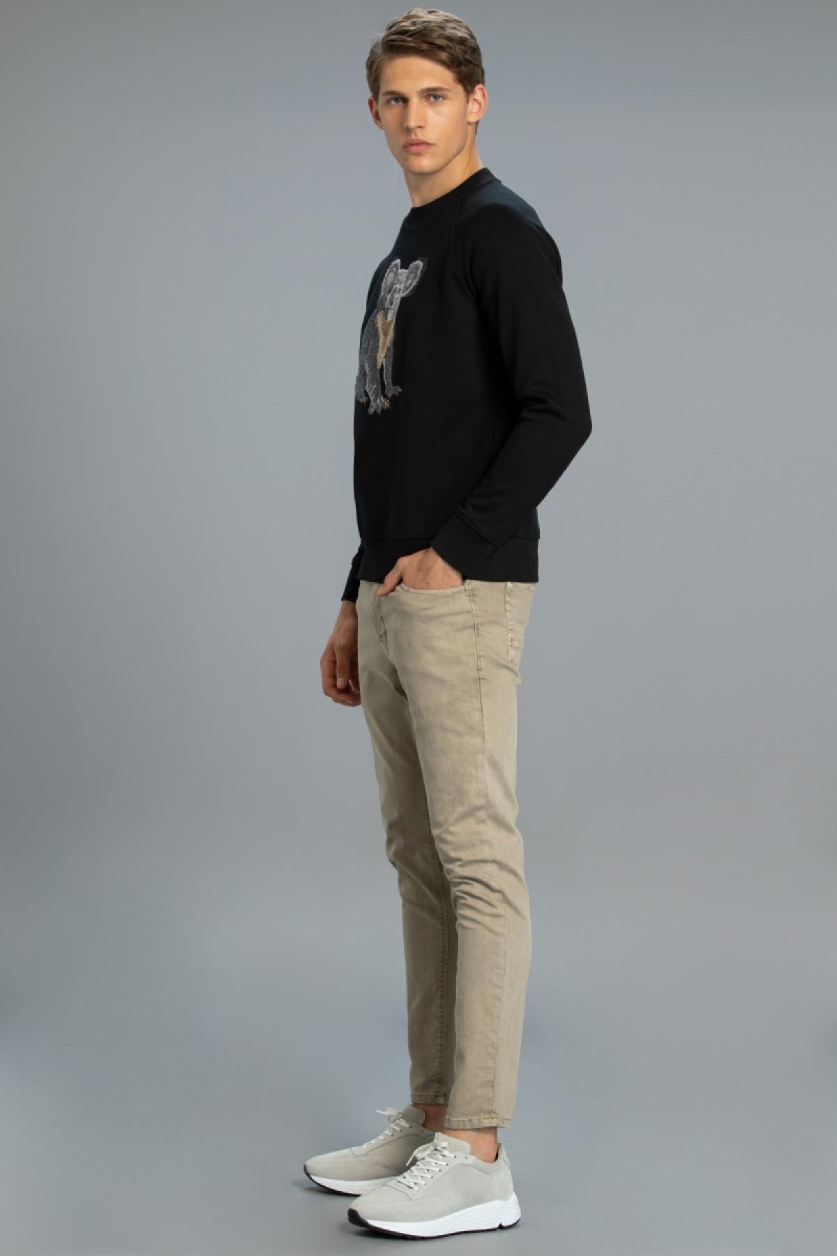 Erıc Smart 5 Cep Pantolon Slim Fit Bej
