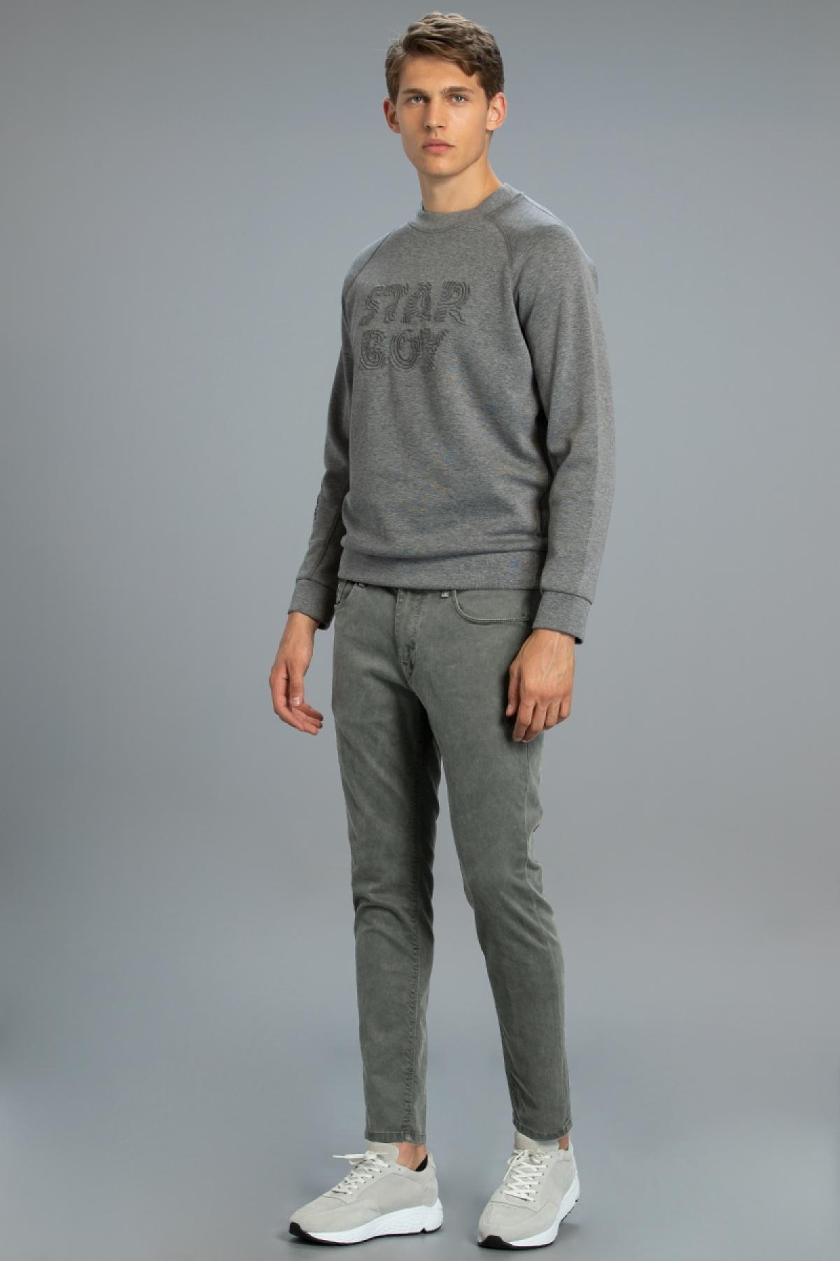 Erıc Smart 5 Cep Pantolon Slim Fit Yeşil