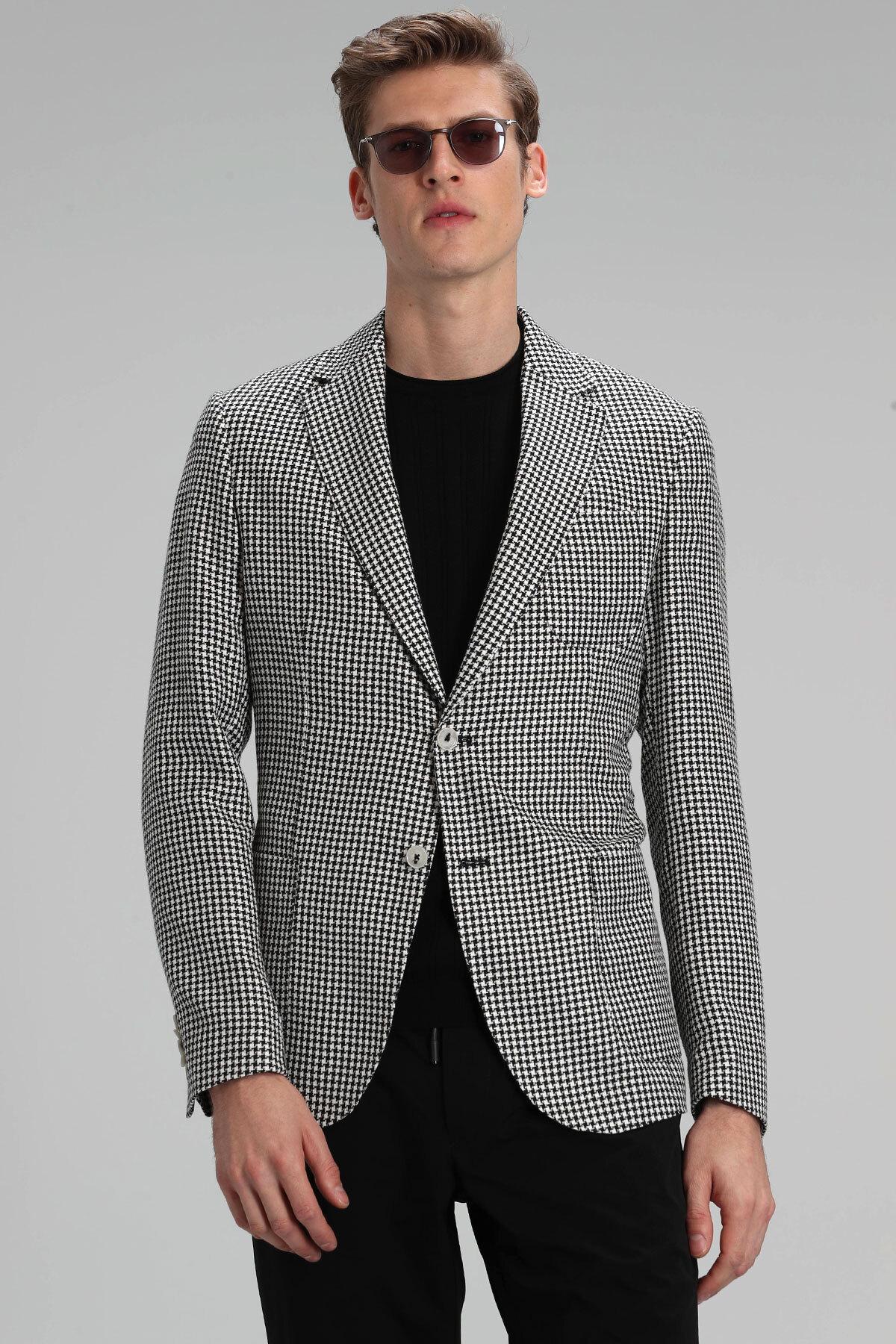 Monar Spor Blazer Ceket Slim Fit Siyah