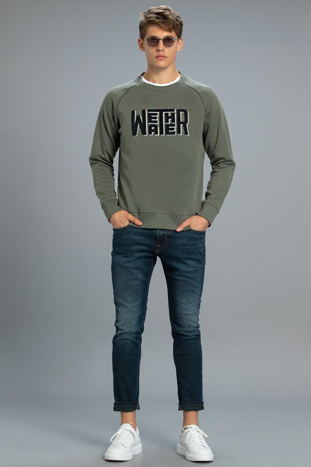Mounth Erkek Sweatshirt Yeşil