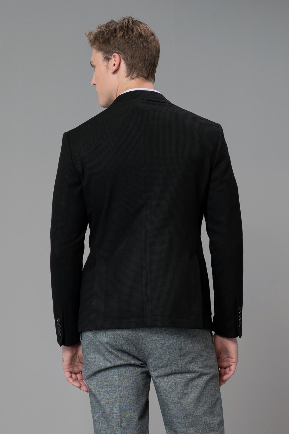 Nox Spor Blazer Ceket Slim Fit Siyah