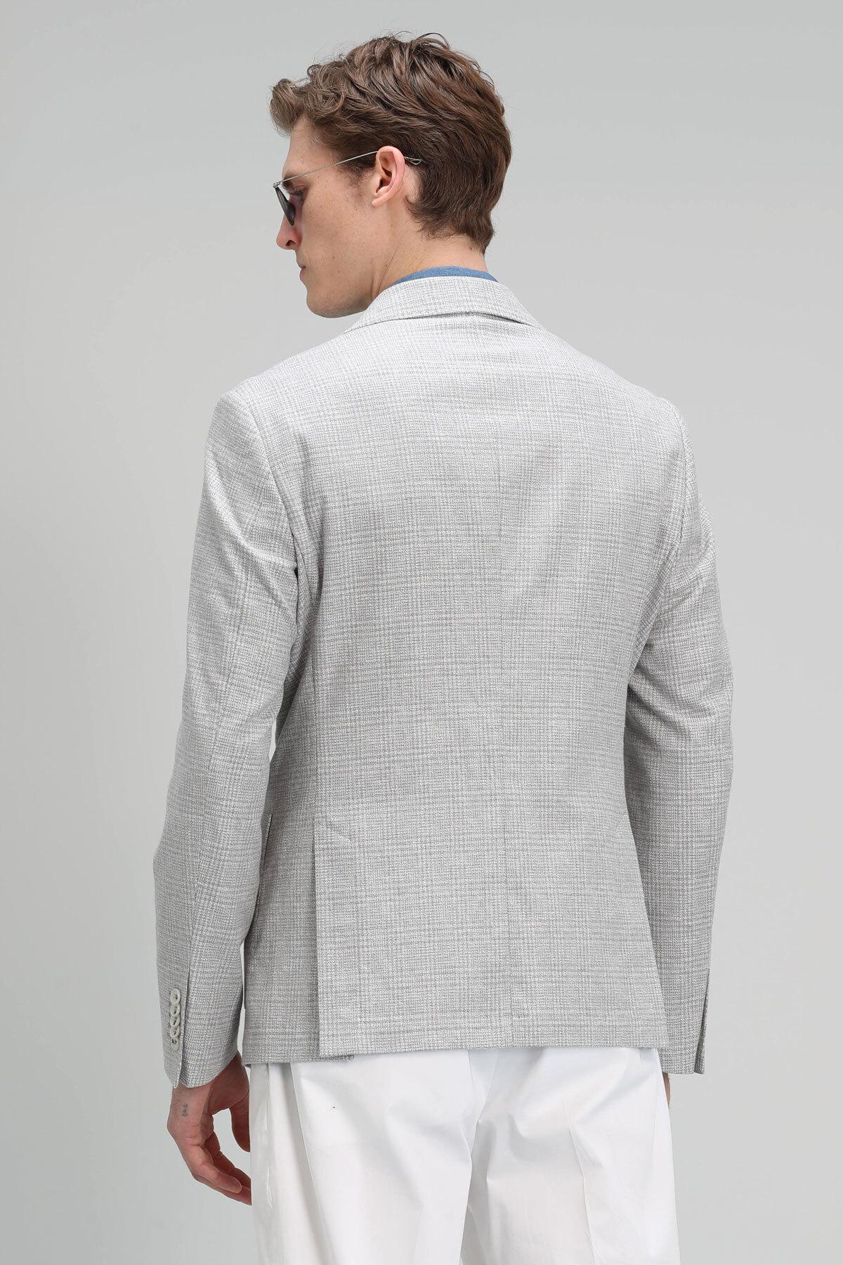Rufı Spor Blazer Ceket Slim Fit Gri