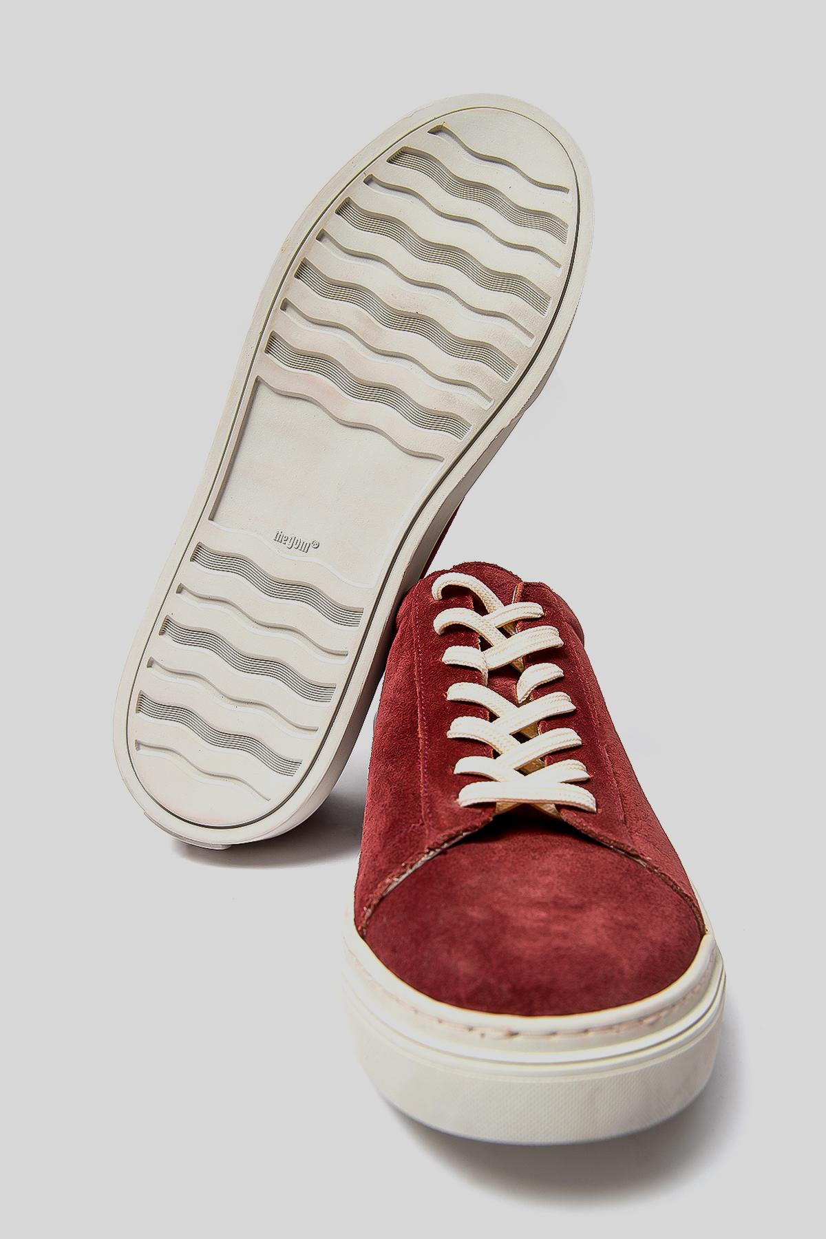 Slınky Deri Sneaker Bordo
