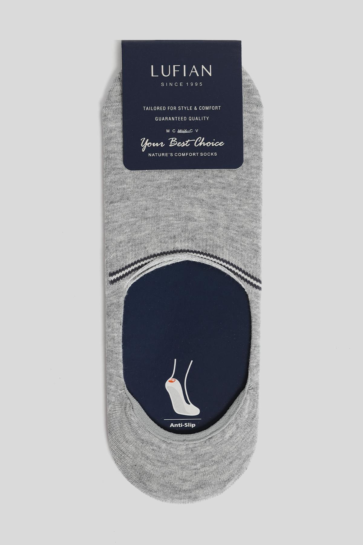 Todel Erkek Babet Çorap Gri